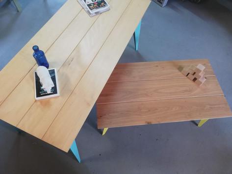 Tables Arlequins  #PuysMobilier