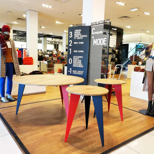 Tables Galeries Lafayette