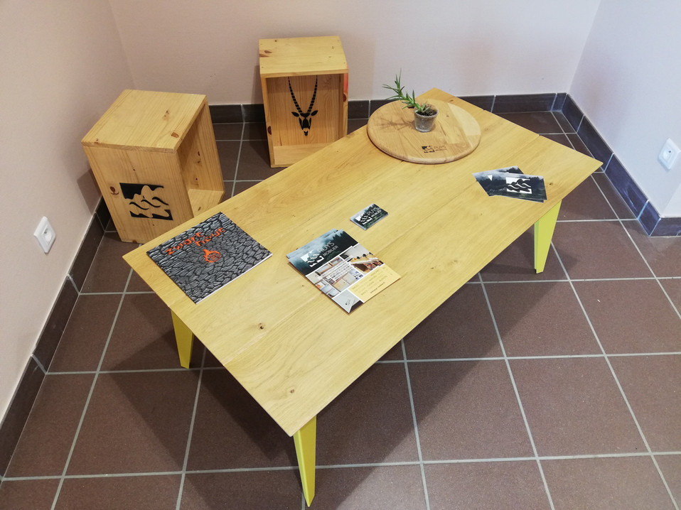 Table basse Arlequin