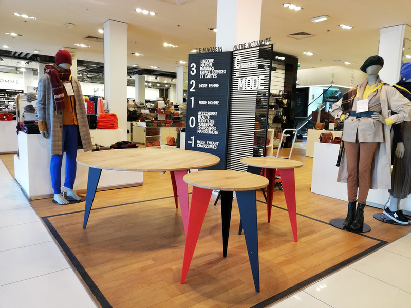 Tables Galeries Lafayettes