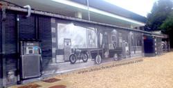 antigua estación de servicio