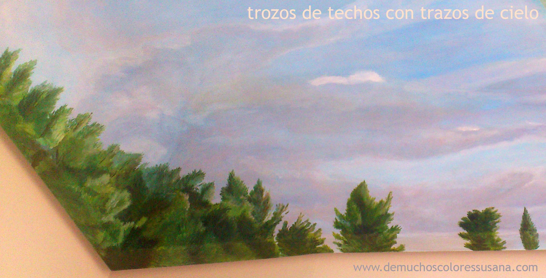 árboles en día nublado