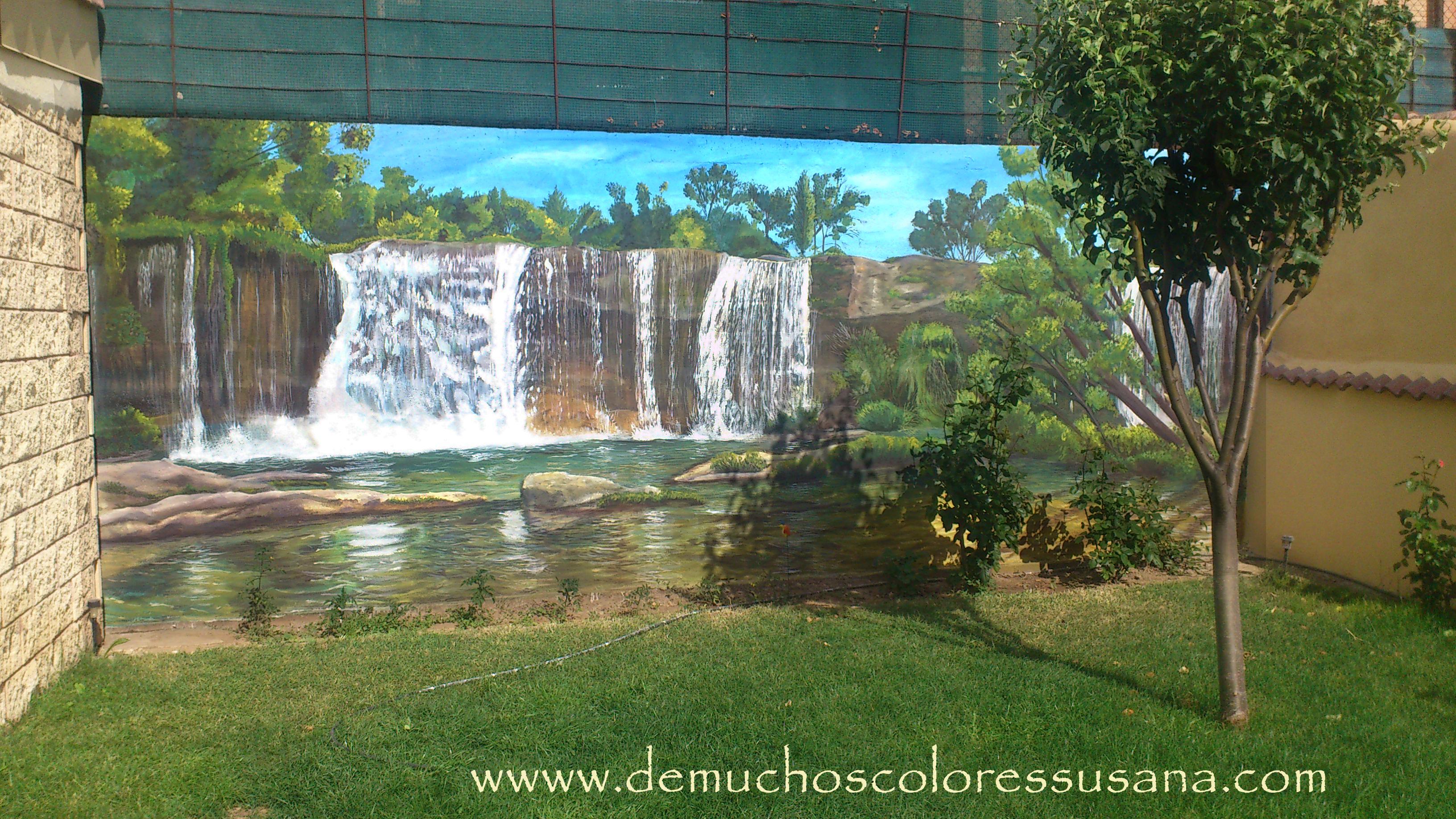 cascada de Pedrosa de Tobalina en el mur