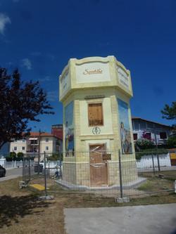 Depósito de aguas Santoña