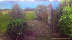 el mural escondido
