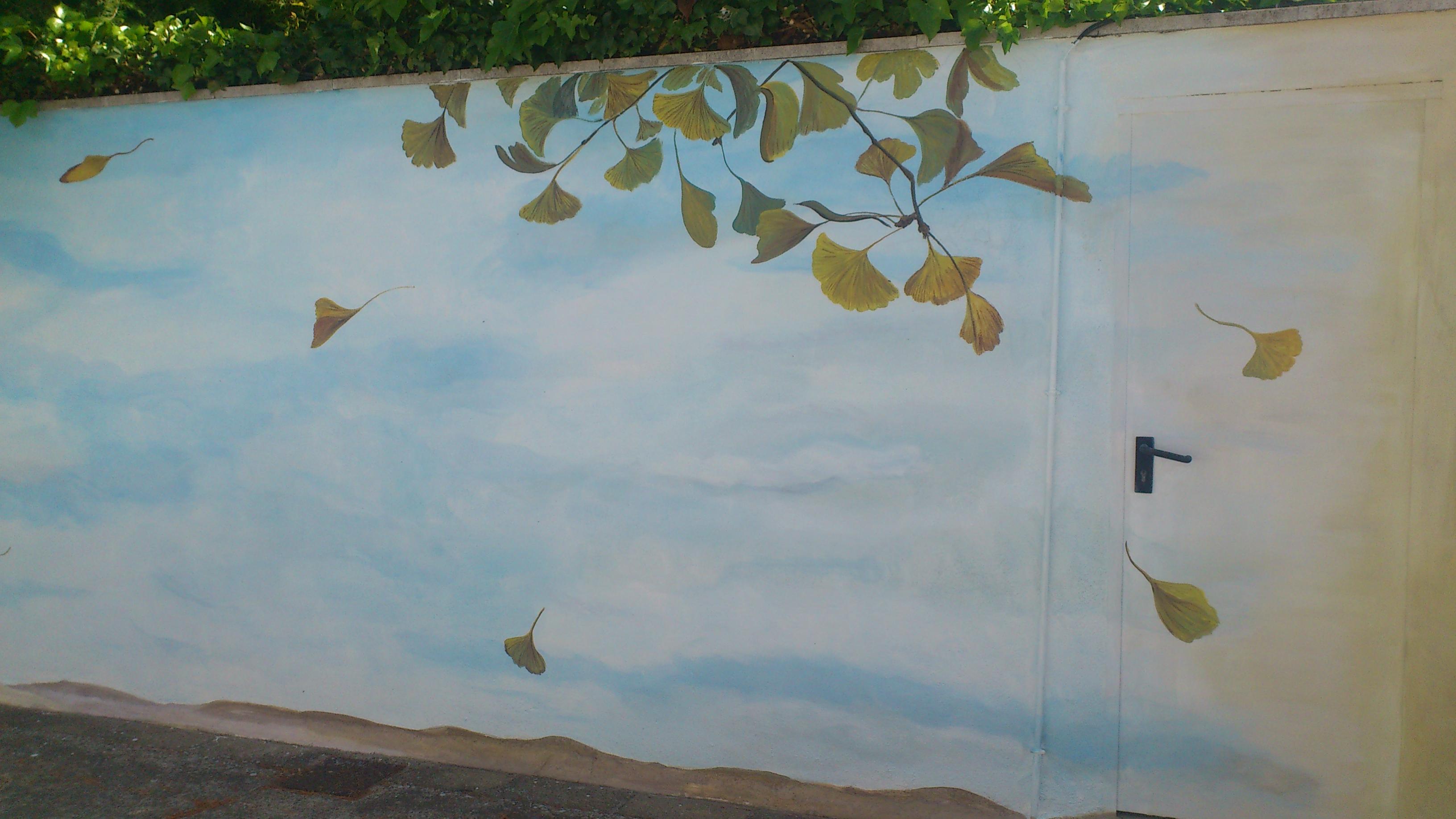 Mural Ginkgo