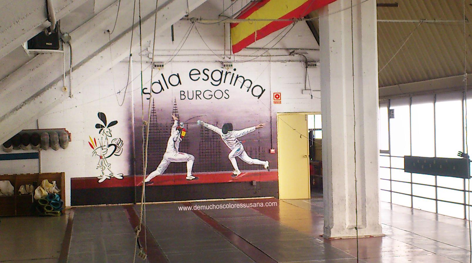 SALA ESGRIMA BURGOS