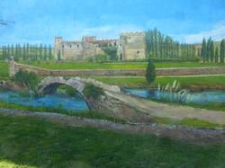 Río Ubierna y Castillo Sotopalacios