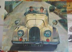 el viejo coche