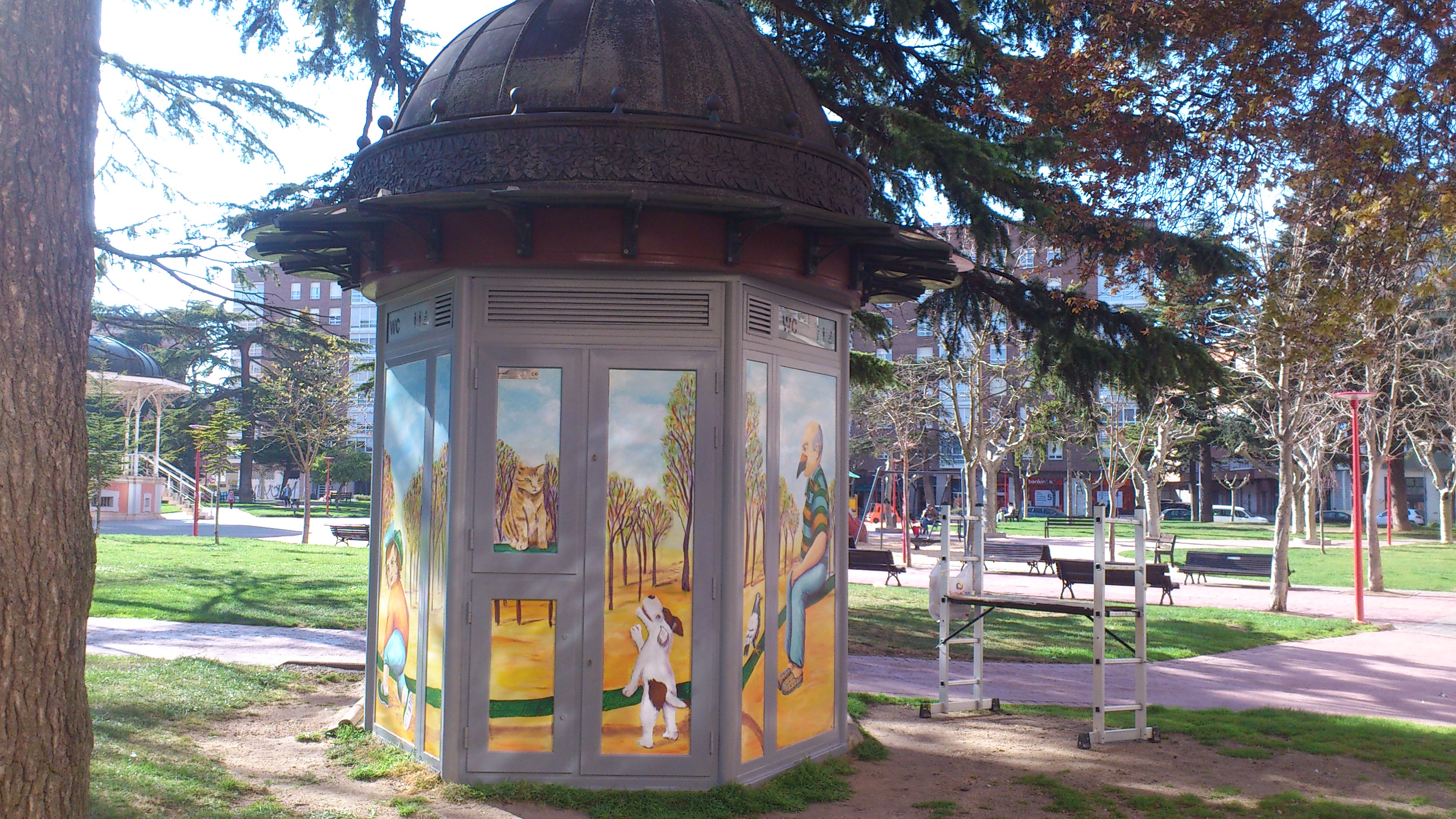 En el parque