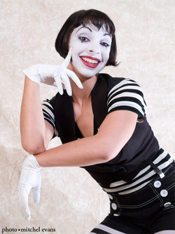 Mime chick!
