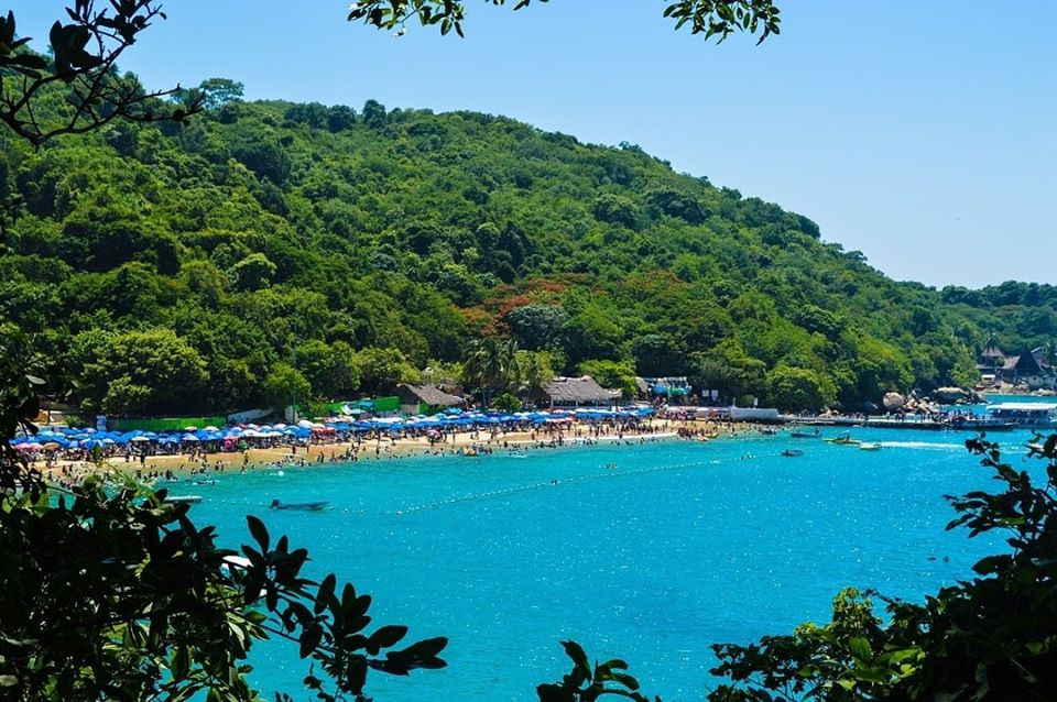 Playa principal de la Isla Roqueta