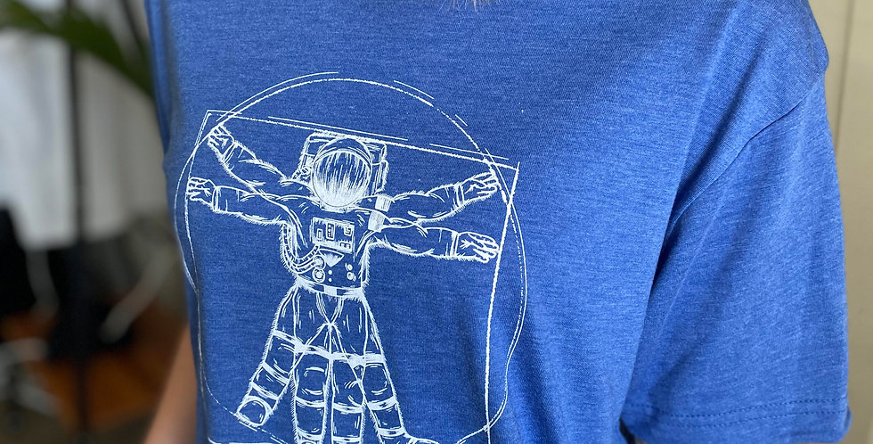 Vitruvian Astronaut T-Shirt
