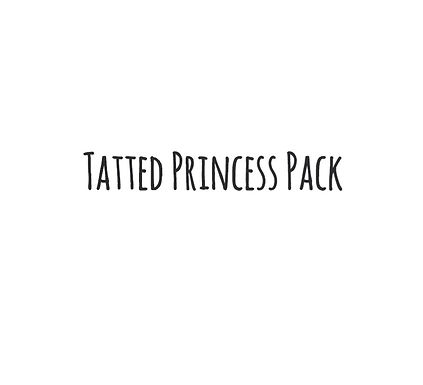 Tatted Princesses Sticker Pack