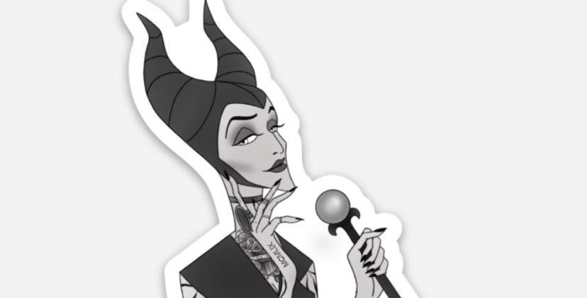 Maleficent Sticker