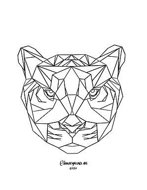Tiger Coloring Page