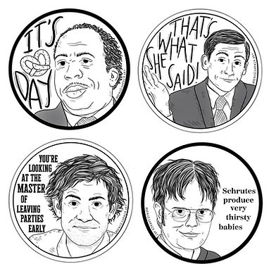 The Office Sticker Pack