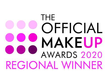REGIONAL WINNER of 'Freelance Makeup Artist of the Year'