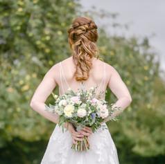 Photographer: Katrina Shannon Photography  Model: Grace Lawton-Jones  Venue: Blakelands Country House  Dress: TDR Bridal