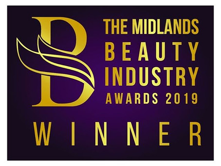 WINNER of 'Outstanding Beauty Professional of the Year 2019'