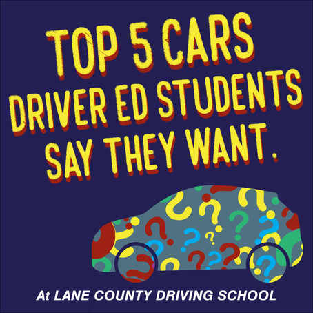 The Top 5 Five Cars That Driver Ed Students Say They Want