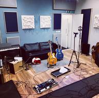 Studio Live Room - Drums View