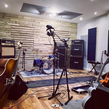 Studio Live Room - Front View