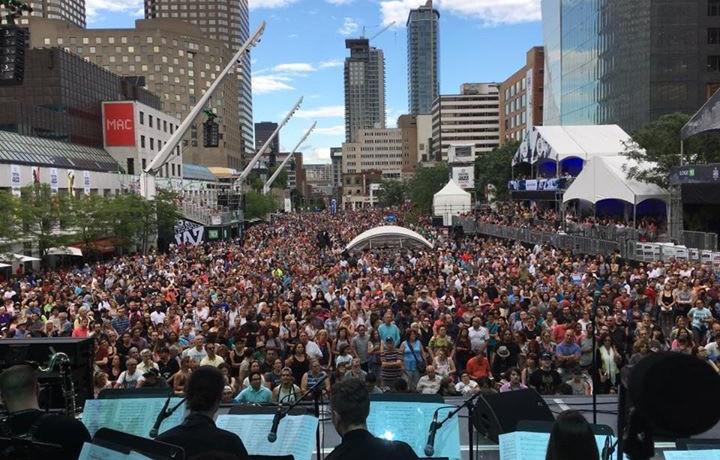 Jazz Festival Montreal-Croud
