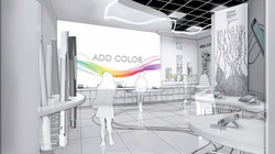 add color section render