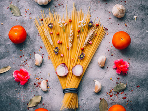 Simple quick comfort food - Pesto Rosso with Pasta
