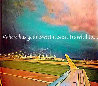 Sweet n Sasse travels the globle.