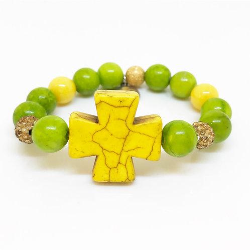 10mm Girl's Cross Bracelets