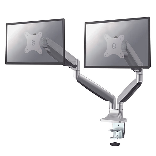 NS Double Gas Monitor Arm - Silver