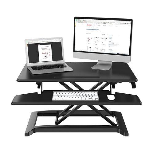 L-E-VATE Sit-Stand Desktop Solution