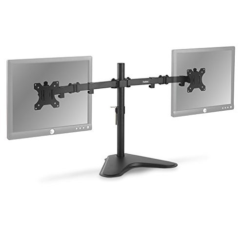 Dual Freestanding Monitor Stand