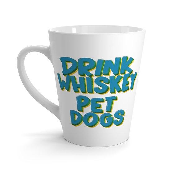 Drink Whiskey Pet Dogs Latte mug