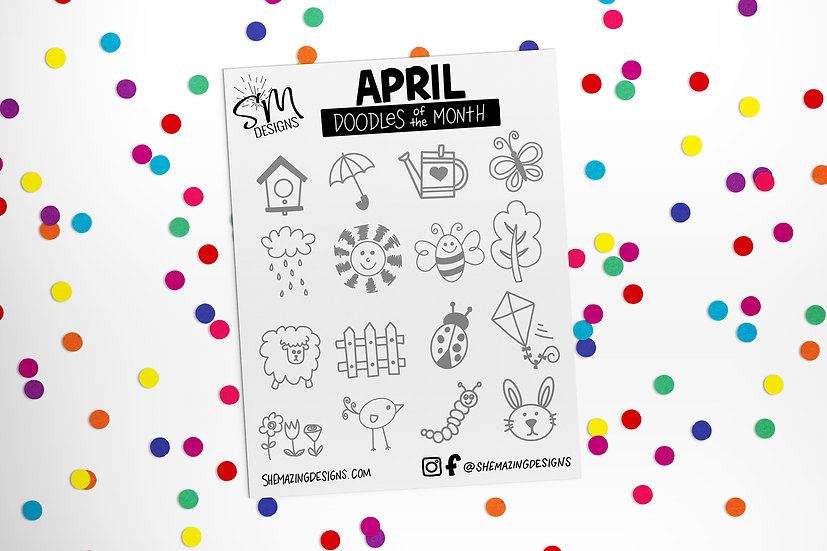 Doodle of the Month-April 2021