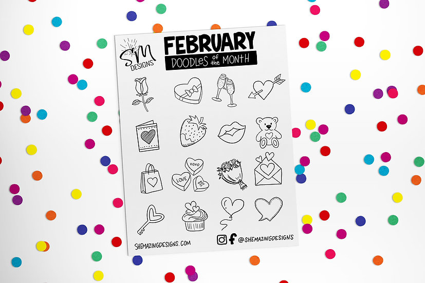 Doodle of the Month-February 2021