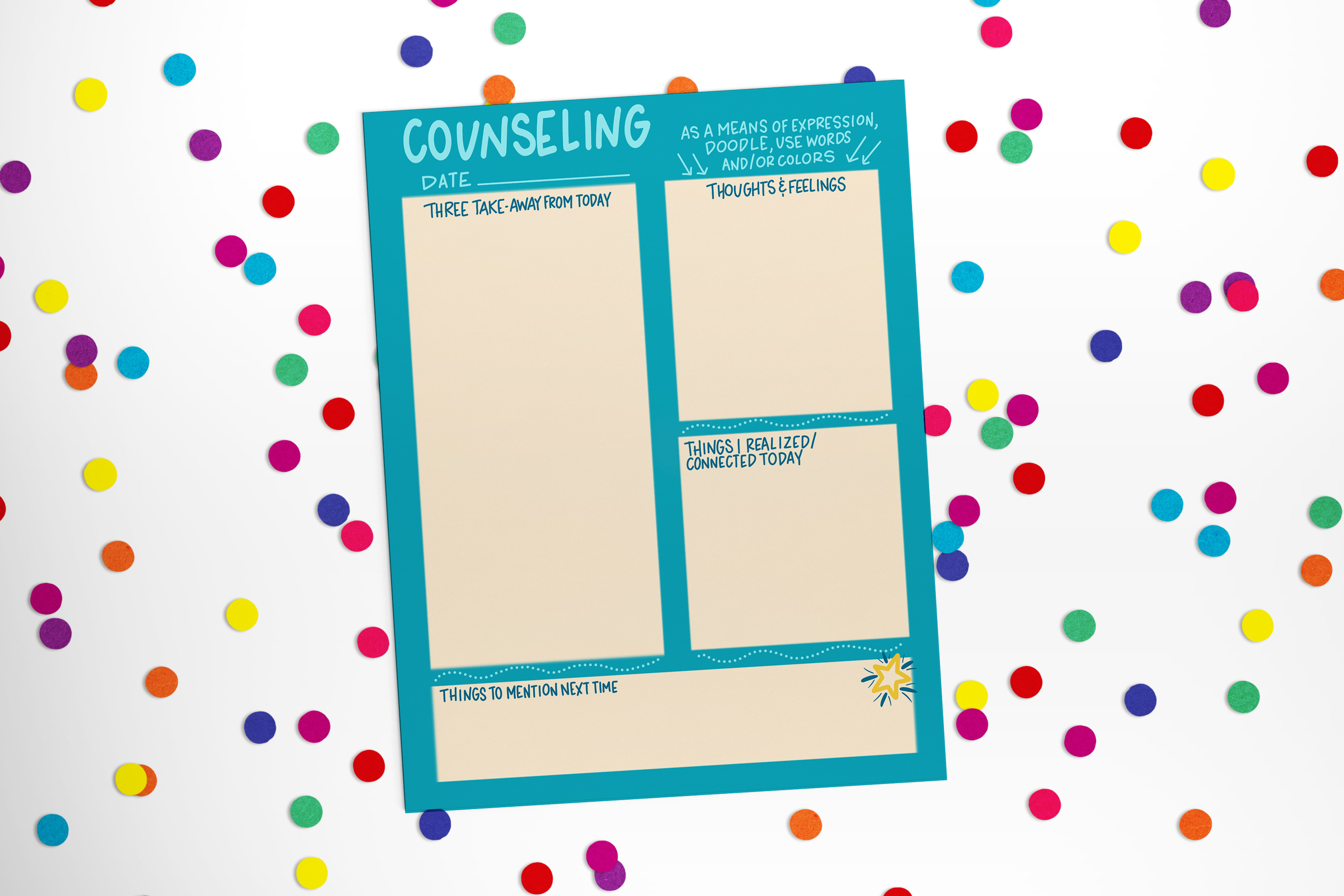 Weekly Counseling Notes