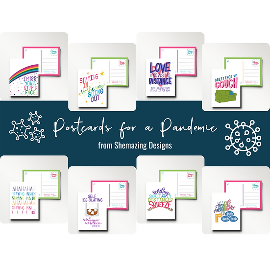 Postcards for a Pandemic Set