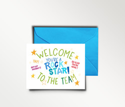 Welcome to the Team Card