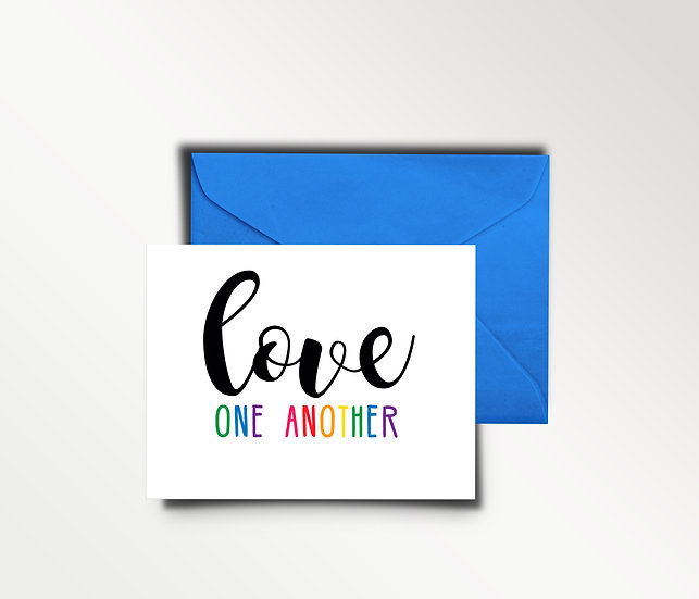 Love One Another - CARD