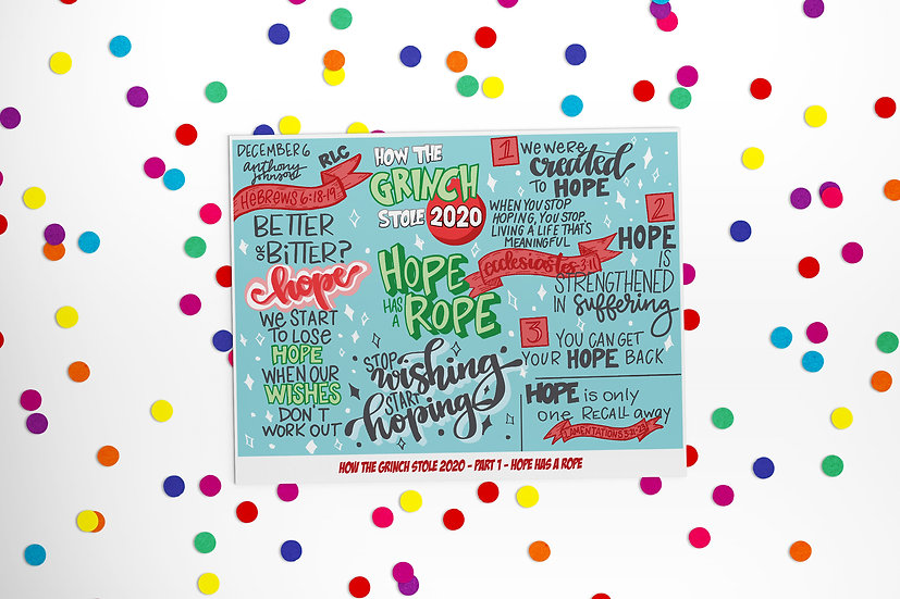 How the Grinch Stole 2020-Downloadable Sketchnotes