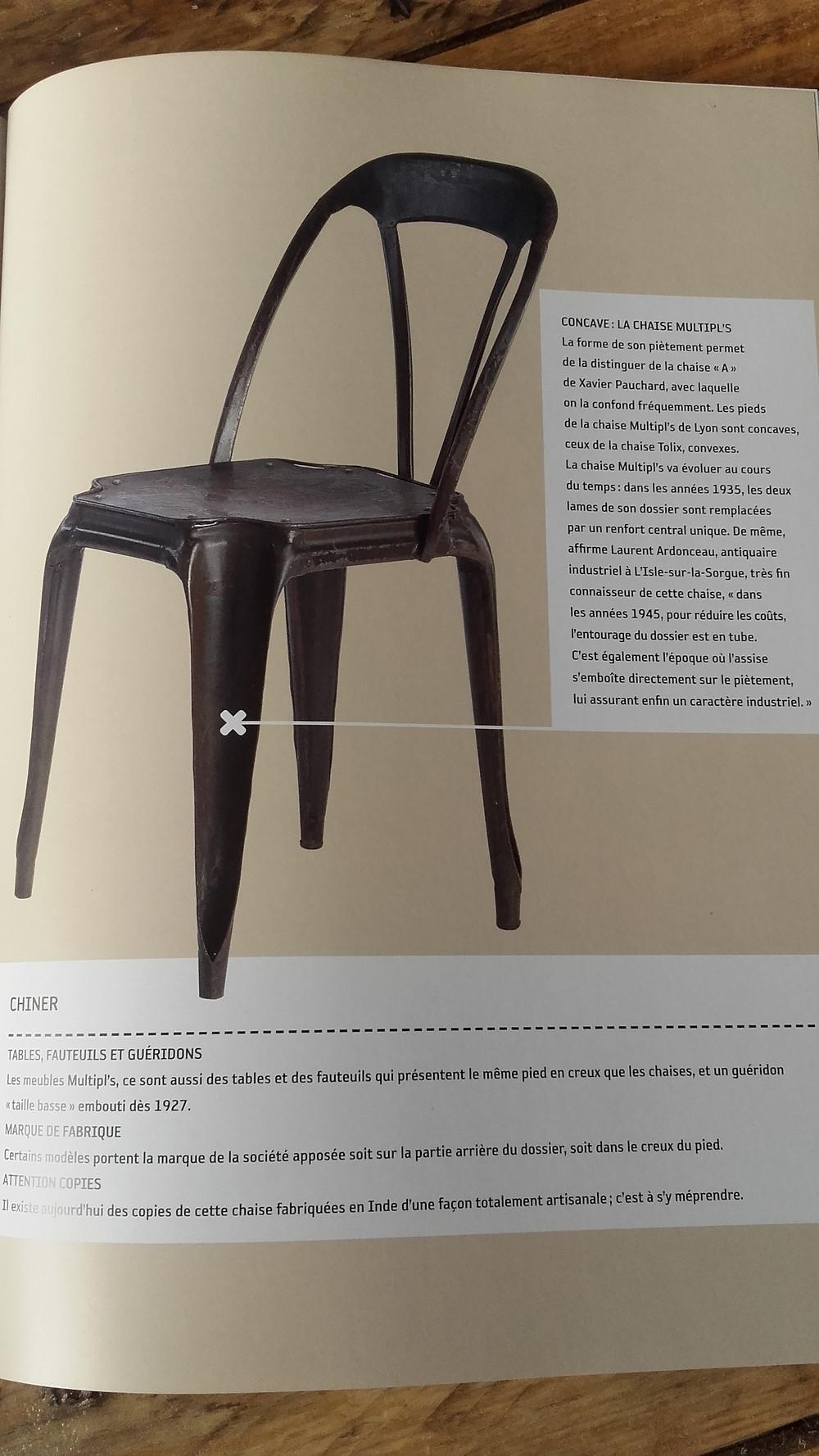 le mobilier industriel de Brigitte Durieux