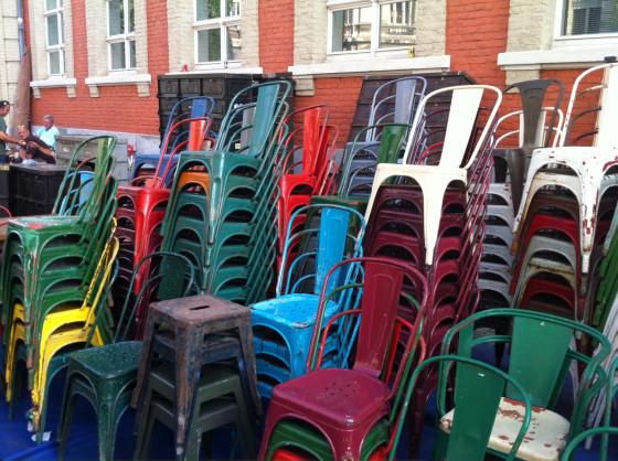 chaise A -tolix