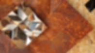 Double Diamond, Stainless on Rust (Detail).jpg