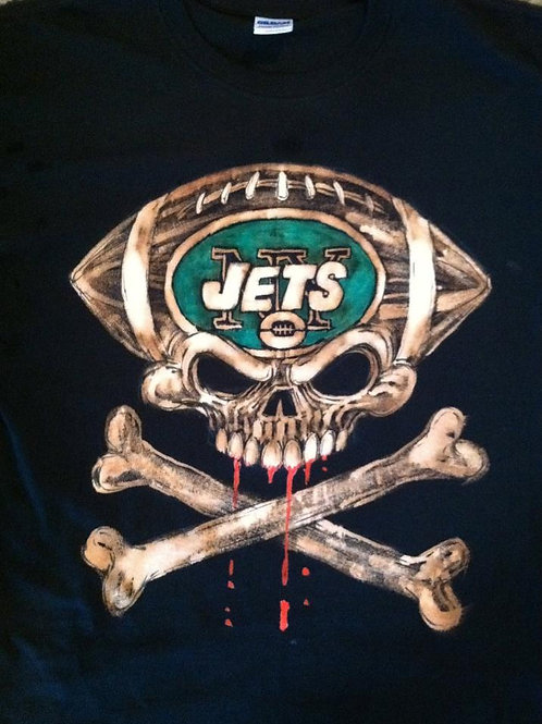 NY Jets Bleached Tee