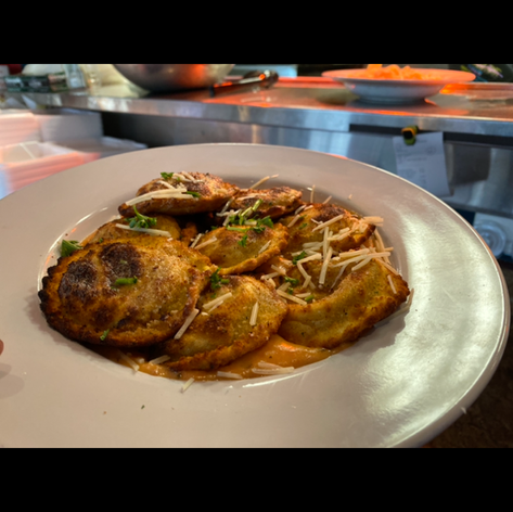 Pan Fried Ravioli