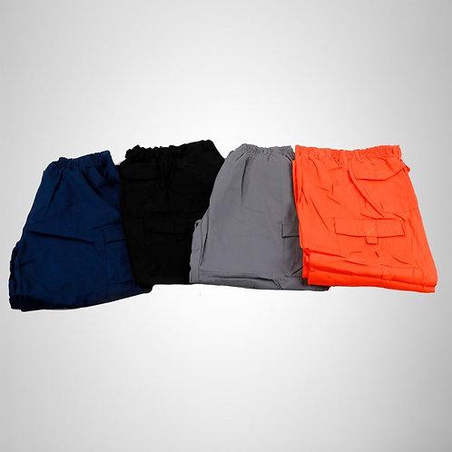 Pantalón Cargo Poplin Elasticado