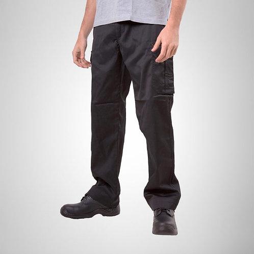 Pantalon Cargo vestir Gabardina